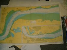 Admiralty Chart 1186 - UK - RIVER THAMES - CANVEY ISLAND to TILBURY 2012