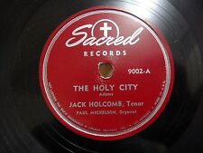 Jack Holcomb The Holy City / The Prodigal Son Sacred 9002