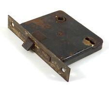 Antique Reading Hardware RH Mortise Door Lock & Latch #858 3/4 Reversible Brass