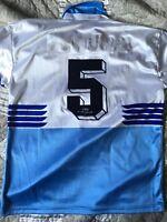 Lazio 1986/87 Gregucci 5 maglia -9 shirt jersey vintage worn match Tuttosport Xl