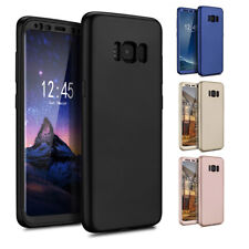 ETUI HOUSSE COQUE INTÉGRALE NEW FULL COVER 360 SAMSUNG GALAXY S7 EDGE/S8/S9/PLUS