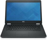 """Dell Latitude E5470 14"""" Laptop i5-6200U 2.3GHz 8GB 256GB SSD Windows 10 Pro"""
