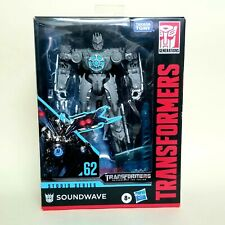 NEW! HASBRO Transformers Studio Series 62 SOUNDWAVE Deluxe Class Action Figure
