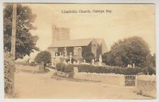 Wales postcard - Llandrillo Church, Colwyn Bay - P/U