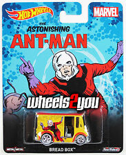 BREAD BOX Ant-man - MARVEL - 2015 Hot Wheels Pop Culture D Case