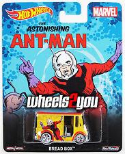 BREAD BOX Ant-man - MARVEL - 2015 Hot Wheels Pop Culture D Case