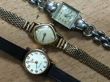 lot ancienne montre Femme Lip Dauphine Junghans Vanguard mécaniqu vintage watch