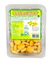 Saladitos - Lupinenbohnen Turmos gekocht in Salzlake (350g Netto) verpackung