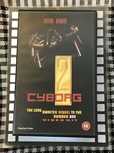 Cyborg 2 VHS Ex-Rental Original Large Case
