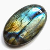 Cts. 33.15 Natural Spectrolite Labradorite Cabochon Oval Cab Loose Gemstones