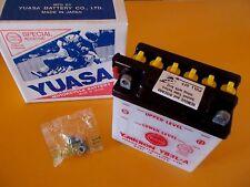 12v Honda XL200 XL250 XL350 XL500 XL600 NS50F 12 Volt Battery  Yuasa YB3L-A