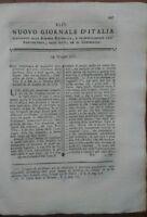 1781 NUOVO GIORNALE D'ITALIA: VEGETAZIONE E SALUBRITA' DELL'ARIA, VINO, VITI.