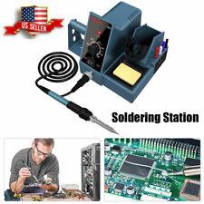Soldering Iron Station Weller Temperature Adjust Rapid Heating Bracket Kit Usa