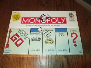Vintage 1999 MONOPOLY Sealed Board Game Original Money Bag Winning Token 1990s
