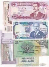 More details for 15 different world banknotes in near mint to mint condition