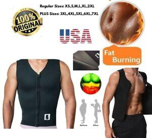 Sauna Hot Suit Shaper Men Slimming Belly Belt Corset 100% Neoprene 2.5mm Vest
