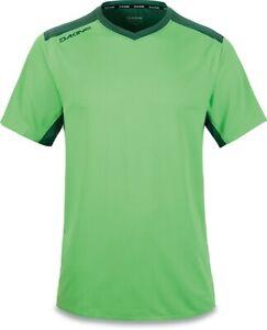 New Dakine Men's Boundary S/S Cycling Bike Jersey Shirt Large Summer Green / Fir