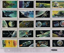 VINTAGE 1970s BROOKE & BOND 'RACE INTO SPACE' TEA TRADING CARDS (33 of 50 cards)