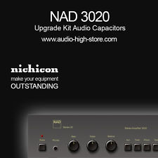 NAD 3020 Upgrade Kit Audio Capacitors