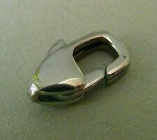 Karabiner Edelstahl 2 oder 3 mm glatt stainless steel Bacatus Endkappen