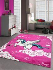 Kinderteppich Spielteppich Mädchen Einhorn Pink