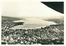 Zurich Switzerland Schweiz Suisse Zeppelin Airship Dirigible CARD IMAGE 30s