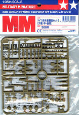 Tamiya 1/35 35205 WWII German Infantry Equipment Set B (Middle/Late WWII)