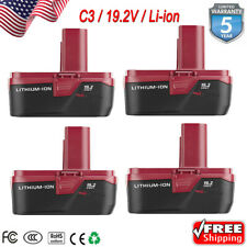 4X For New Craftsman C3 Diehard 19.2 Volt Xcp 4.0Ah Lithium Battery 35706 Pp2011