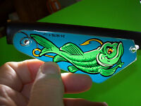 Williams FISH TALES Original Pinball Machine Slingshot Plastic Left Side Only