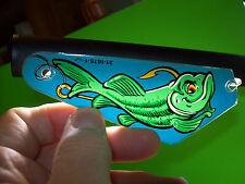 Williams FISH TALES Original Pinball Machine Slingshot Plastic Left Side Only