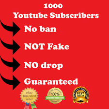 1k Youtube-subscribers +1k view blogger youtuber music bands supplier