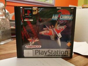 SONY PS1 GAME AIR COMBAT NAMCO MANUAL NICE CONDITION PLAYSTATION 1 PSONE & PS2