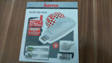 Hama N900 Dual Band WLAN USB Stick 2,4 / 5 GHz Neu.
