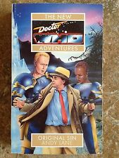 DOCTOR WHO THE NEW ADVENTURES Original Sin 1st 1995 Andy Lane L@@K WOW!!!