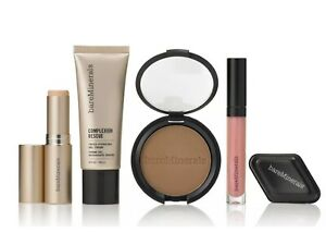 bareMinerals 5 Piece Complexion Rescue Hydrate & Glow Make-up Set OPAL 01 New