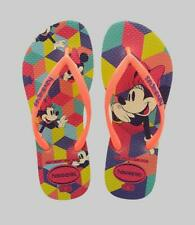 DressNStyle NWT Original HAVAIANAS Minnie Mouse Print Slippers Flip-Flops S39 B2