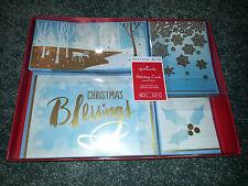Hallmark Religious 40 Christmas Cards & Envelopes Boxed Set Blessings Assortment