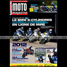 MOTO MAGAZINE N°282 HONDA CB 600 ST 1300 PAN EUROPEAN 700 TRANSALP YAMAHA XJ6 N