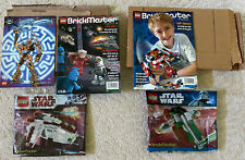LEGO BRICKMASTER PACKs 20010 20019 Star Wars  Republic Gunship Magazines - NEW