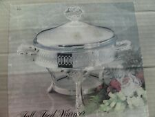 Vintage Silver Plate Buffet Food Warmer NEW in Box 1987 UNUSED