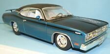 1/18 CUSTOM MADE 1971 Plymouth Duster , blue , weekend racer  ,  drag car, pro