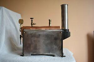 Stuart 501 Steam Boiler used disassembled