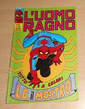 ED.CORNO  SERIE  L'UOMO RAGNO  N°  59  1972   ORIGINALE  !!!!!
