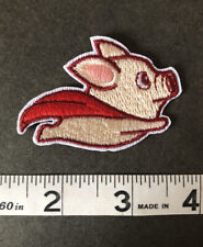 PATCH-Cute Flying Pig Patch Iron-On/Sew-On Embroidered Applique, Cute Unique