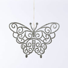 1 Metal Hanging Decorative Butterfly