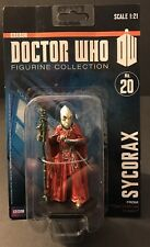 Doctor Who: SYCORAX  #20 Collector Figure BBC Collection [NEW ON CARD]