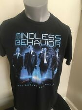 MINDLESS BEHAVIOR ALL AROUND THE WORLD 2013 US Concert Tour Hip Hop Pop TShirt L