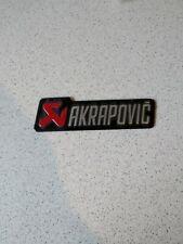Akrapovic Street 3d Auspuff Aufkleber Hitzefest , Sticker, Emblem