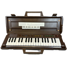 YAMAHA PS-2 Portasound Portable Mini Keyboard with Carry Case | Brown | Working