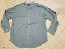 New Mens IZOD Non-Iron Stretch Business Casual Dress Shirt 2XL XXL